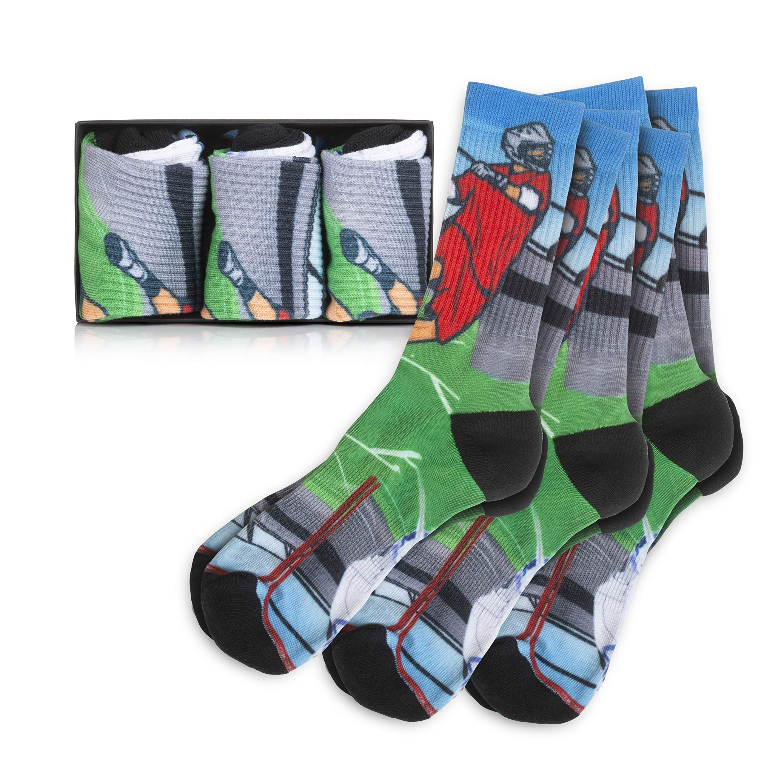 Lacrosse Socks 3 Pack (Small) by Lacrosse Scoop