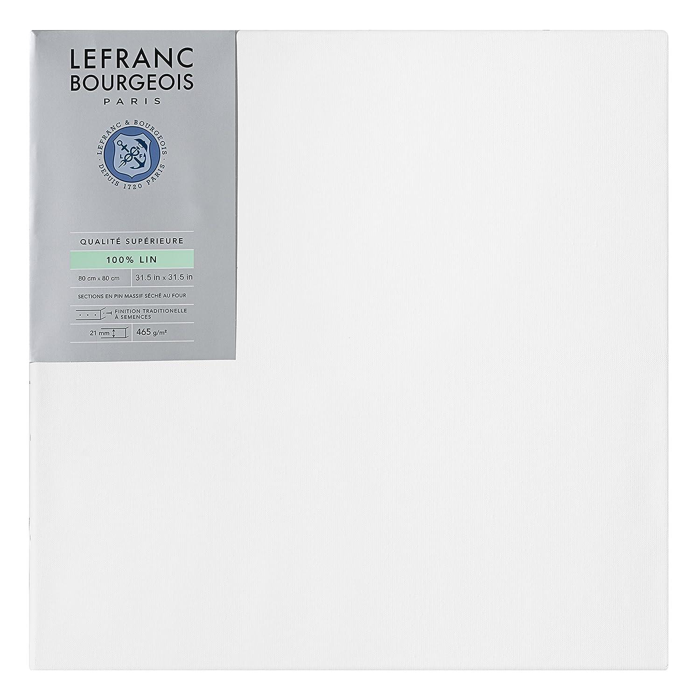 Lefranc Bourgeois 111245Frame Linen 80x 80cm