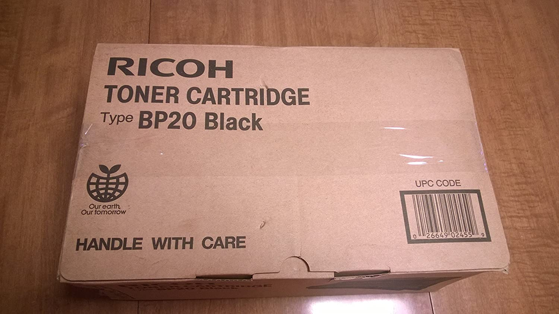 Ricoh Type BP20 Black Toner Import Cartridge Fashionable 402455