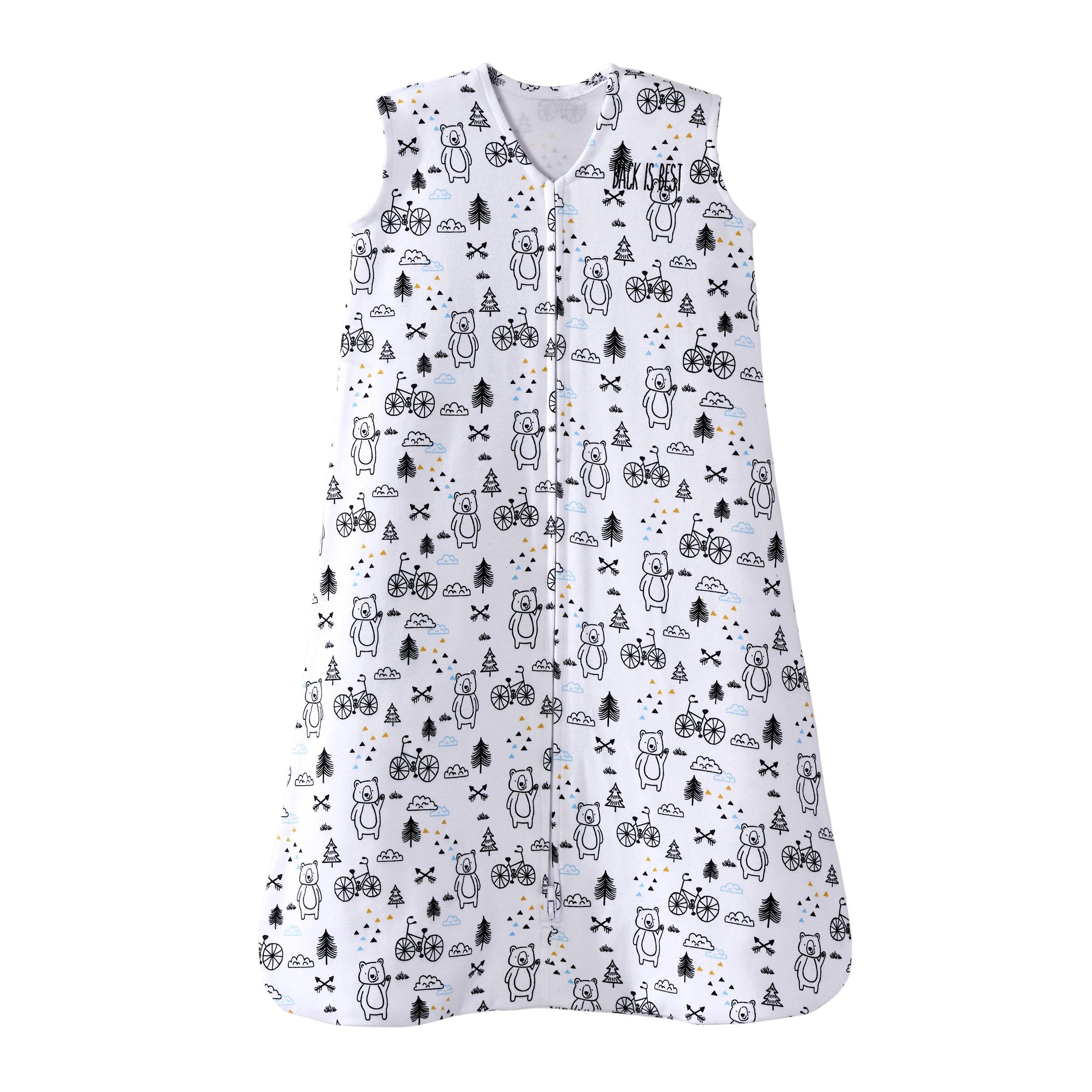 Halo SleepSack 100% Cotton Wearable Blanket, Huggy Bears, Medium