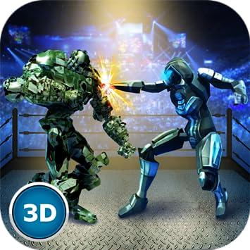 Amazon com: Robot Ring Wrestling Championship: Mech Cyborg