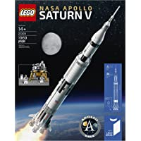 LEGO Ideas 1,900-Pcs. Nasa Apollo Saturn V 21309 Building Kit