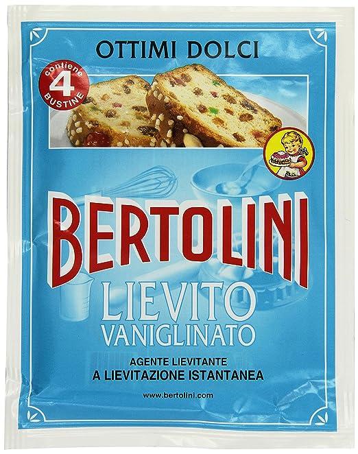 7 opinioni per Bertolini Lievito Vanigliato, Gr64 (4 Bustine)