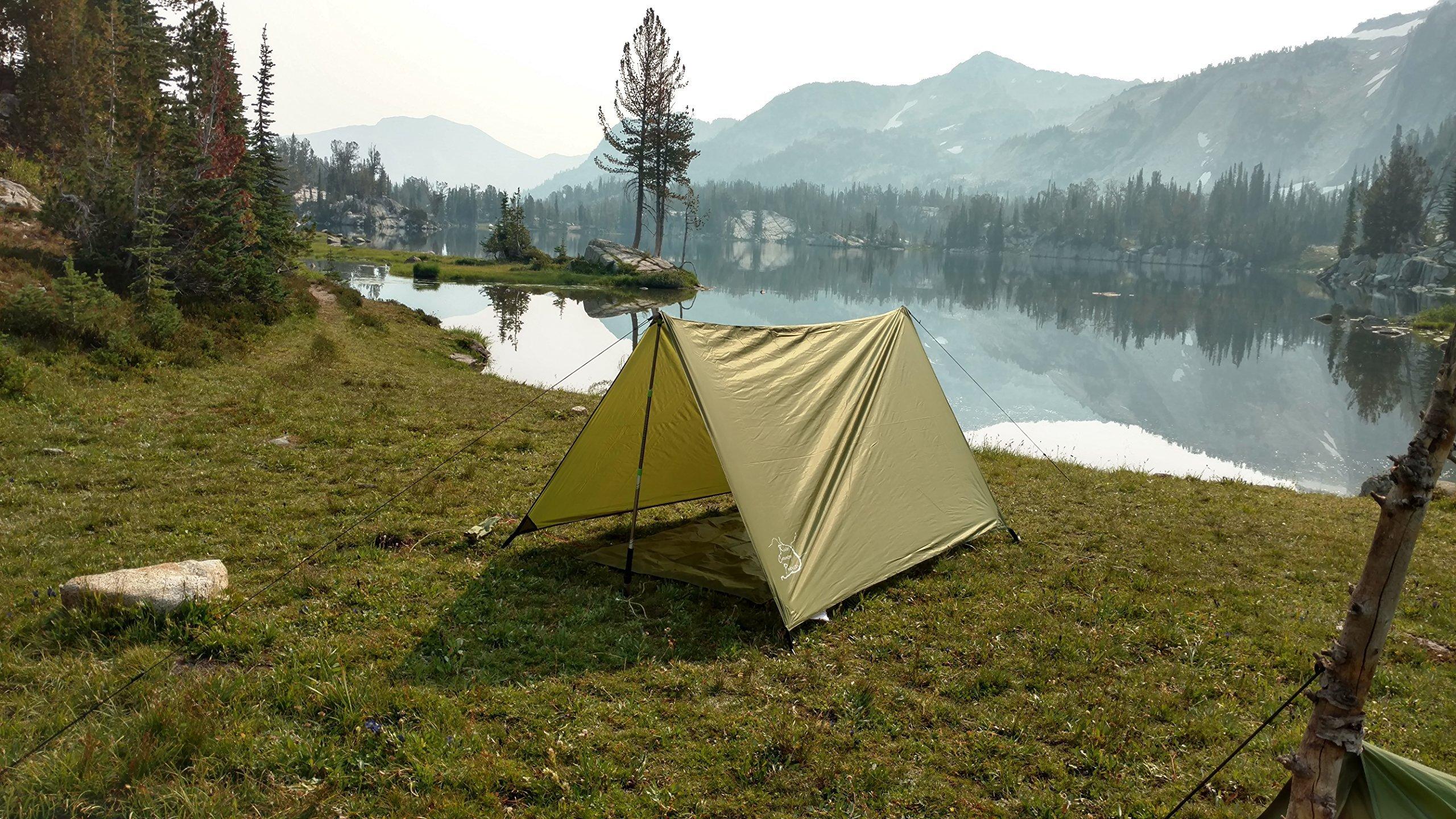 Trekking Pole Backpacking Tent, Backpacking Emergency Shelter, Hammock Rain Fly, Trekking Pole Tent
