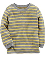 Carter's Toddler Boys Thermal Striped T-Shirt
