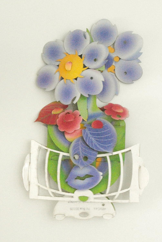 Flower pop up cards Kiss Flower #19