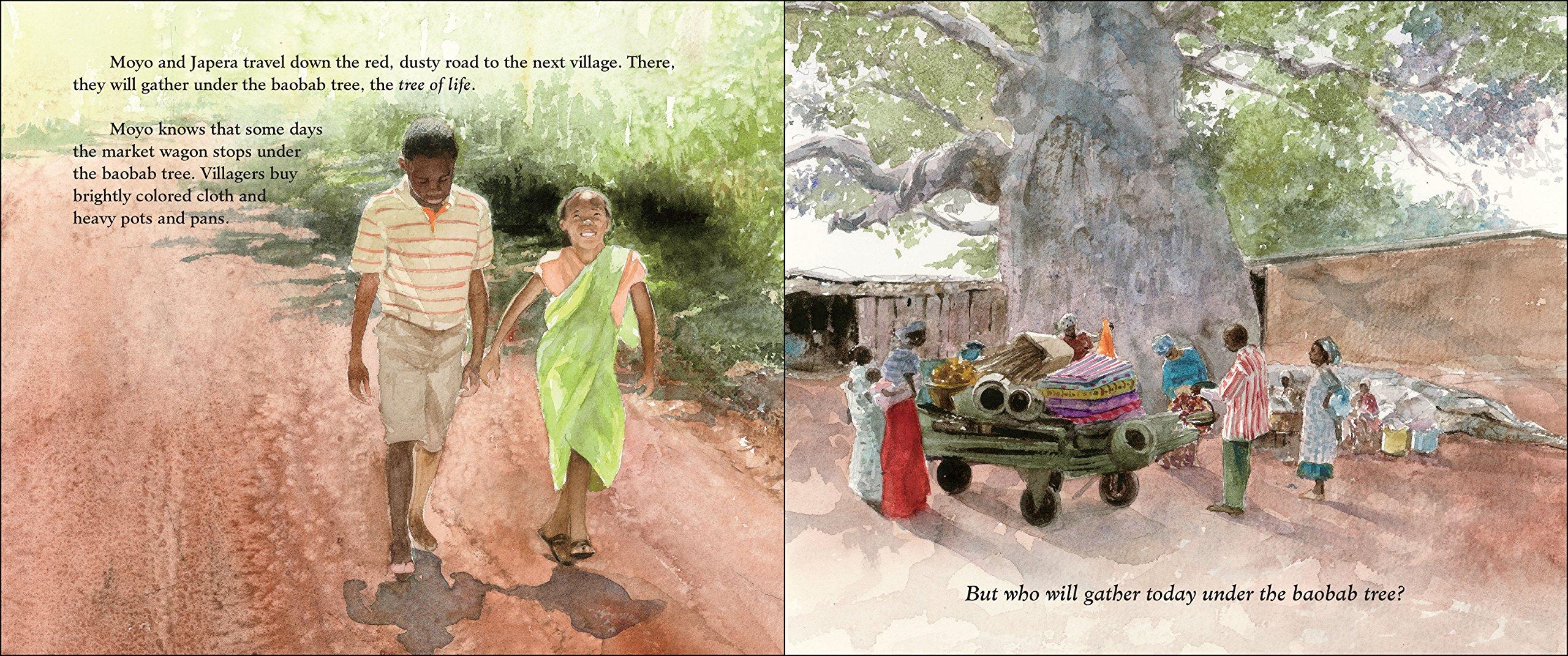 Amazon com: Under the Baobab Tree (0025986725617): Julie