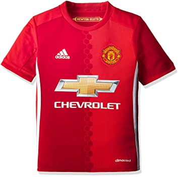 5e6639db4 Manchester United Home 2016/17 – T-Shirt Official Adidas for Children 7-