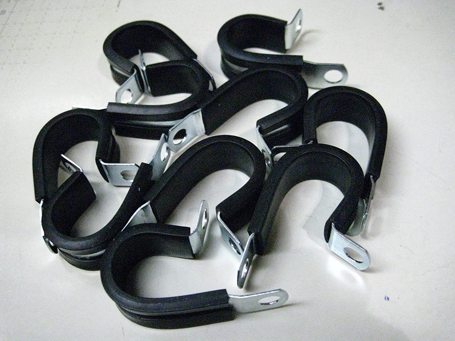 Made In USA Vulcan 1//2 Adel Steel Wire /& Tubing Management Loom Clamps 10 pk