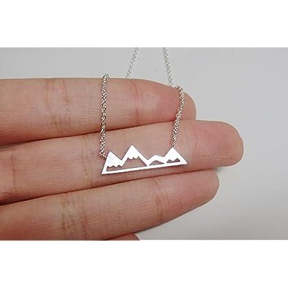 Rosa Vila Mountain Necklace for Outdoor Lovers