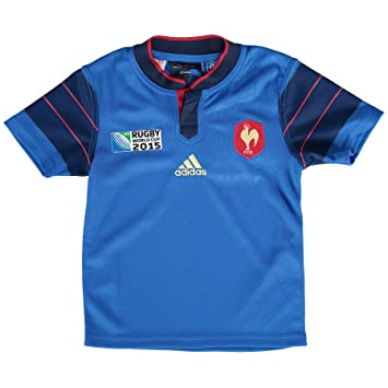 d67ed02d024d ADIDAS PERFORMANCE Maillot de Rugby Equipe de France FFR  Amazon.co.uk   Sports   Outdoors