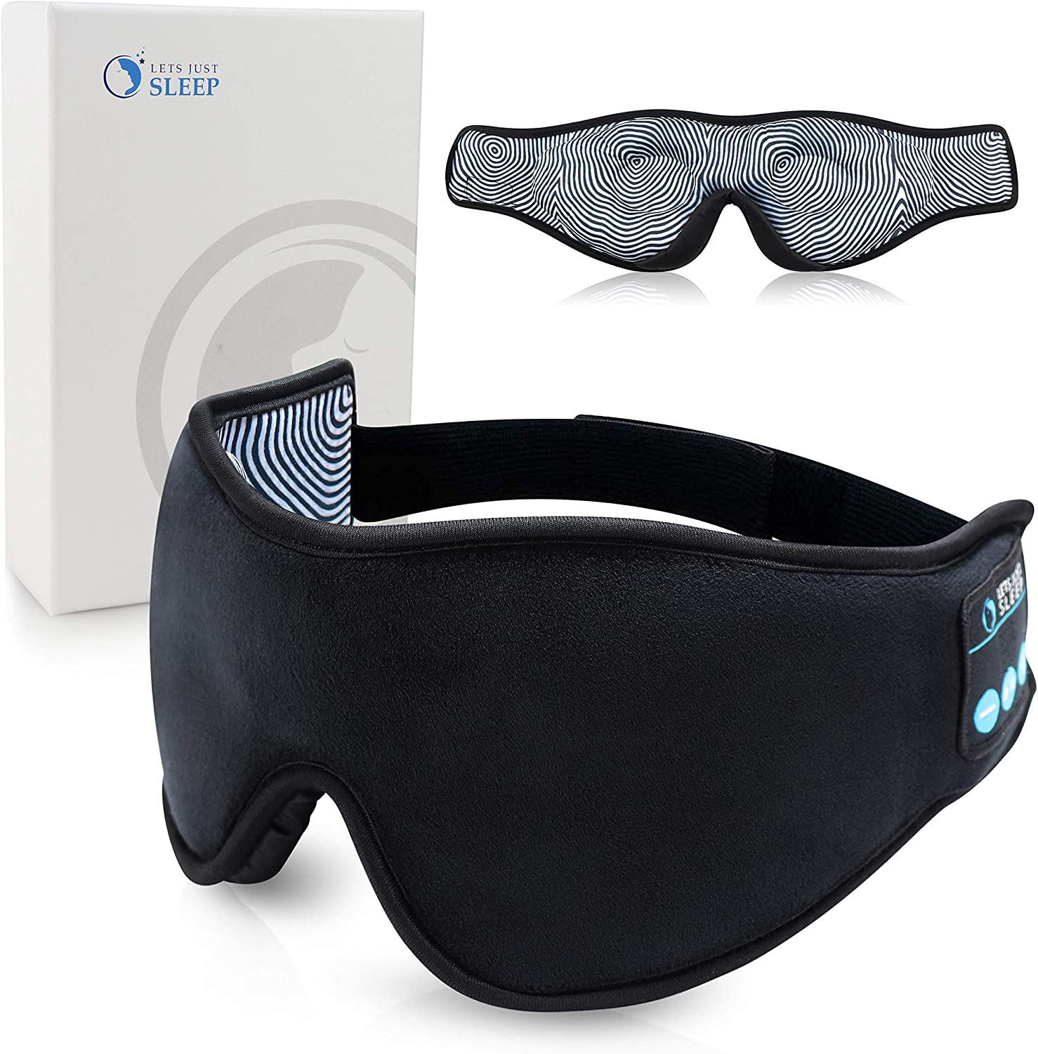 The Sleep Mask Headphones travel product recommended by Brody Elkins on Lifney.