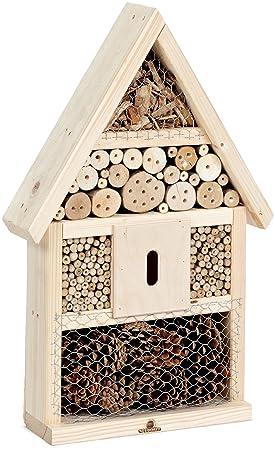 Neudorff 617123 - Hotel de insectos, 47 x 14 x 70 cm, color amarillo: Amazon.es: Productos para mascotas