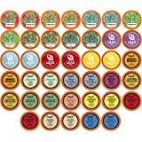 Two Rivers Assorted Tea Sampler Variety Pack for Keurig K-Cup Brewers, 40 Count