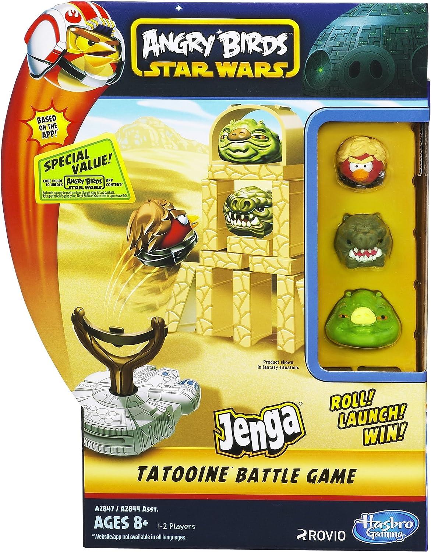 Star Wars Angry Birds Jenga - Juego con Honda, diseño de Angry Birds: Amazon.es: Juguetes y juegos