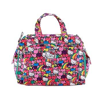 c46f8627c Amazon.com : Ju-Ju-Be Hello Kitty Collection Be Prepared Diaper Bag, Lucky  Stars : Baby