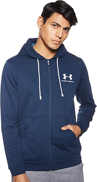Under Armour Mens Sportstyle Terry Full Zip