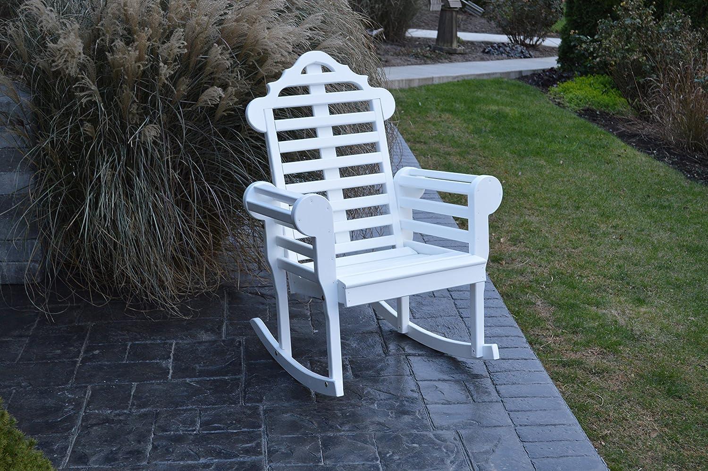 Remarkable Amazon Com Pine Country Outdoor Marlboro Porch Rocker Amish Inzonedesignstudio Interior Chair Design Inzonedesignstudiocom