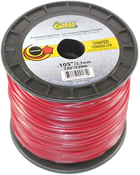 CMD PRODUCTS 9105P 0.105-Inch Diameter Replacement Trimmer Line, 3-Pound