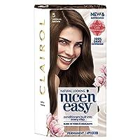 Clairol Nice'n Easy Permanent Hair Color, 5 Medium Brown, Pack of 1