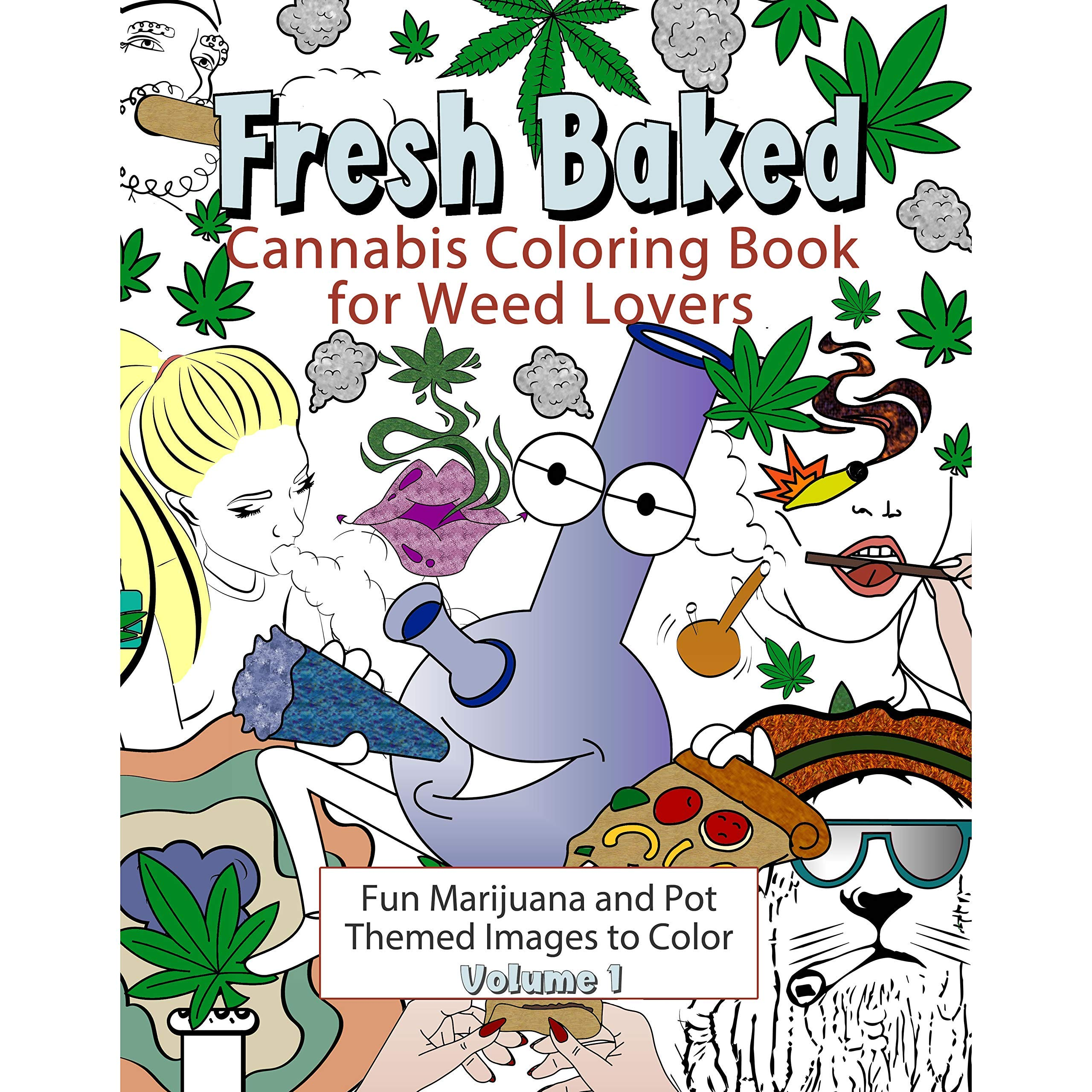 - A Coloring Book For Cannabis Supporters Stoner Coloring Book For