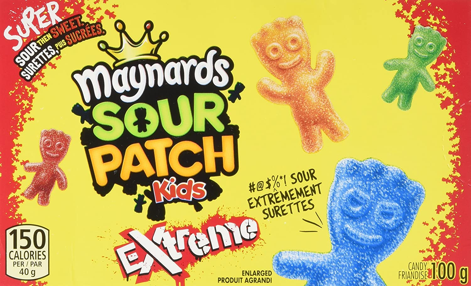 Maynards Sour Patch Kids Candy, 100 Grams