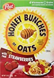 Honey Bunches of Oats Cereal with Real Strawberries, 13 oz