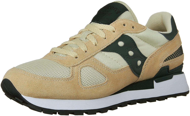 Saucony Originals Men's Shadow Original Sneaker B0188532IU 5 D(M) US|Sand/Green