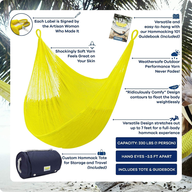 Hamaca de hojas amarillas SHA, Bondi: Amazon.es: Jardín