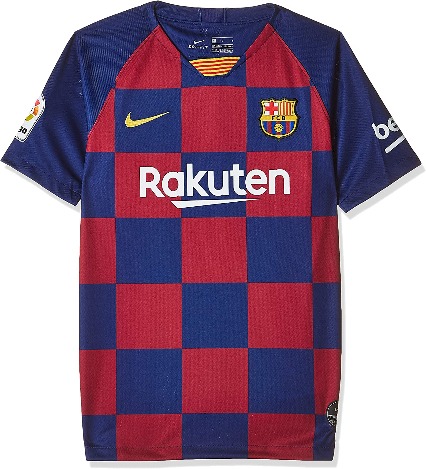 Nike FC Barcelona Home Youth Soccer Jersey- 2019/20