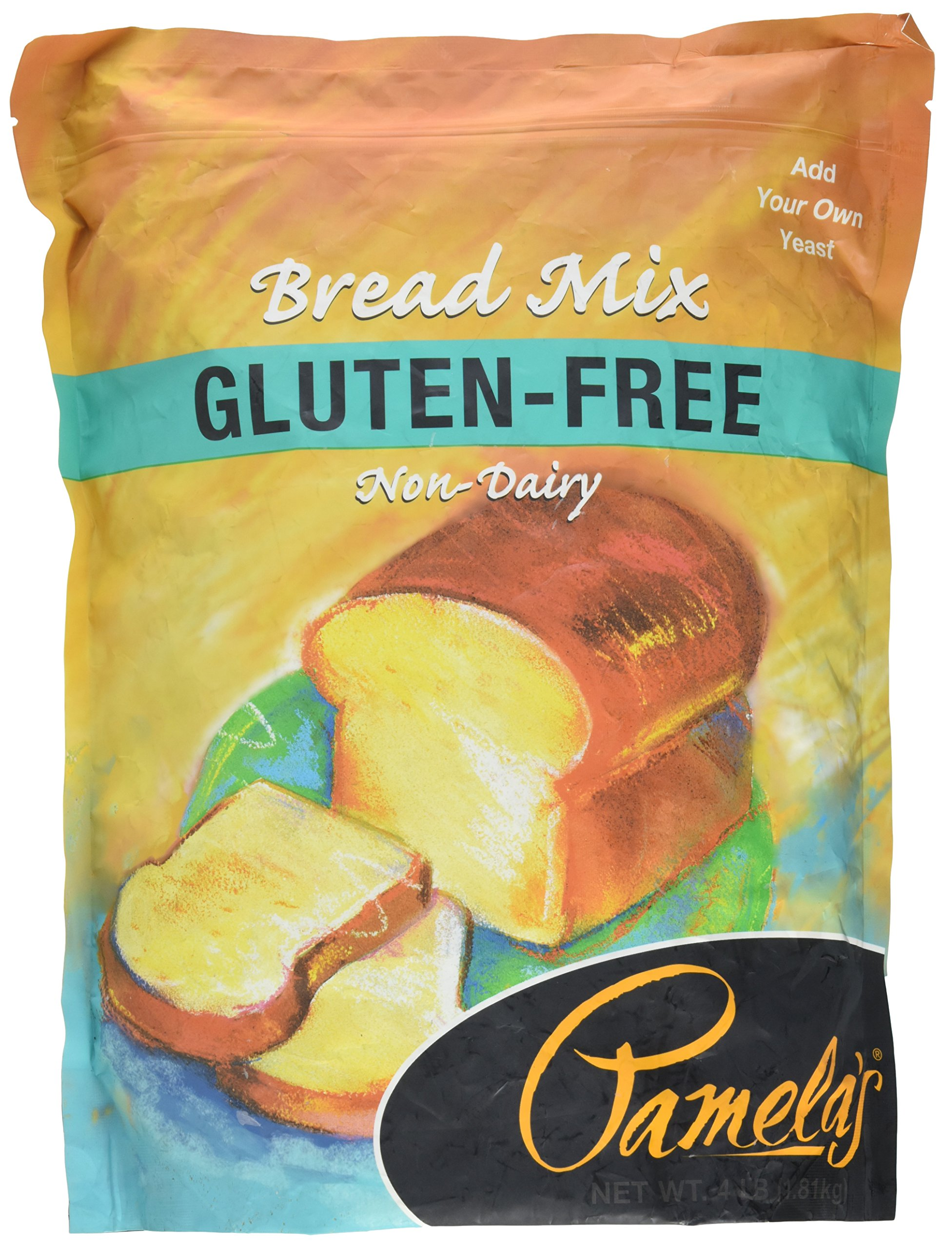 Pamela's Products Amazing Gluten-free Bread Mix, 4-Pound Bag by Pamela's Products