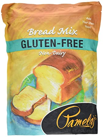 Pamelas Products Amazing Gluten-free pan Mix, bolsa de 4 ...