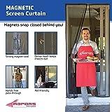 Saint Gobain Fsp8509 U 38 X 81 Easy Breeze Doorway Screen Curtain