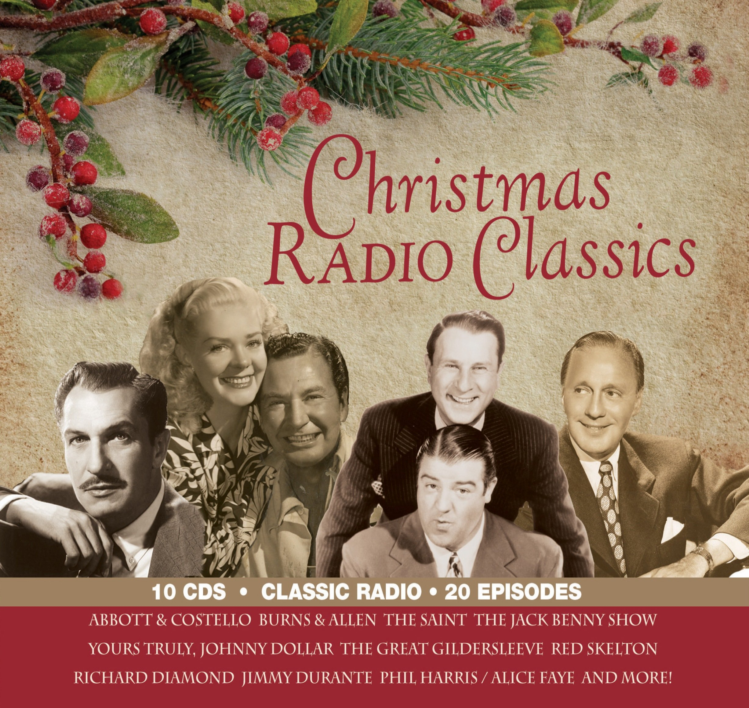 christmas radio classics old time radio original radio broadcasts 9781570199912 amazoncom books - Old Time Radio Christmas
