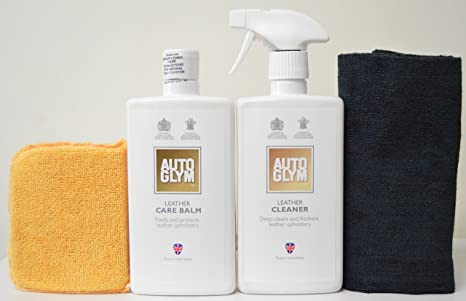 Amazing Autoglym Leather Cleaner Leather Care Balm Combo Care Pack With Free Edgeless Microfiber Microfiber Applicator Machost Co Dining Chair Design Ideas Machostcouk