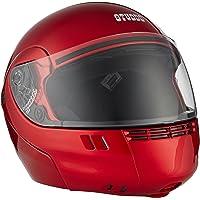 Studds Full Face Helmet Ninja 3G (Eco Cherry Red, M)