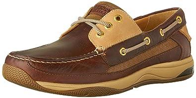 Sperry Top-Sider Men's Gold Billfish w/ASV Dark Brown/Tan Boat Shoe