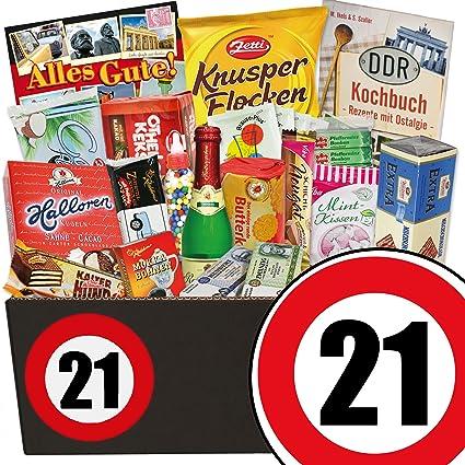 21 Geburtstag Ossi Paket Geschenke 21 Geburtstag Frau Amazon