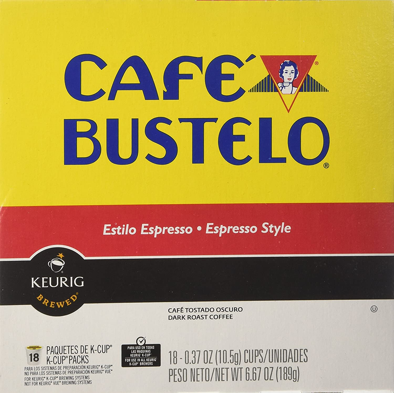 keurig cafe bustelo coffee espresso k cups n 36 count keurig cafe bustelo coffee espresso k cups n 36 count amazon com grocery gourmet food
