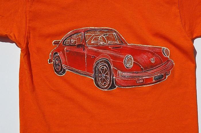 Superb Kids Clothing, Car Children T Shirt, Classic Porsche 911 Carrera, Baby Kids