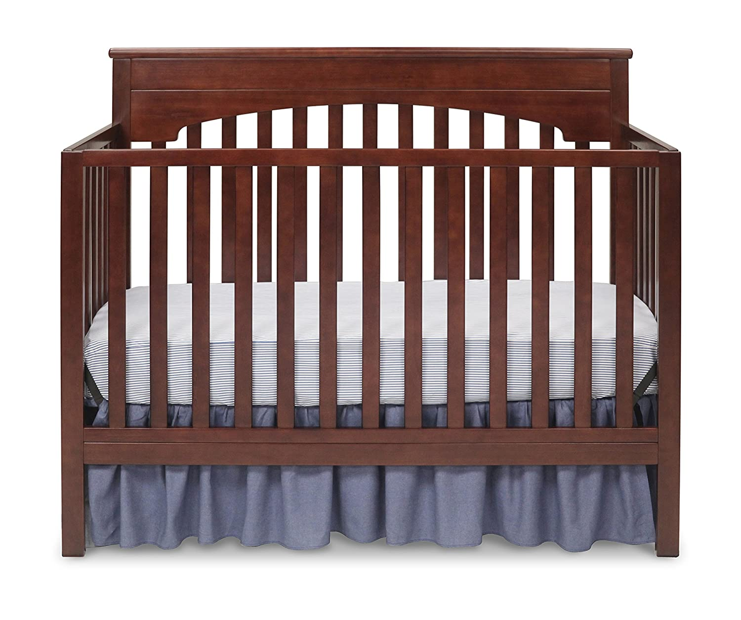 Delta Children Layla 4-in-1 Crib, Chocolate