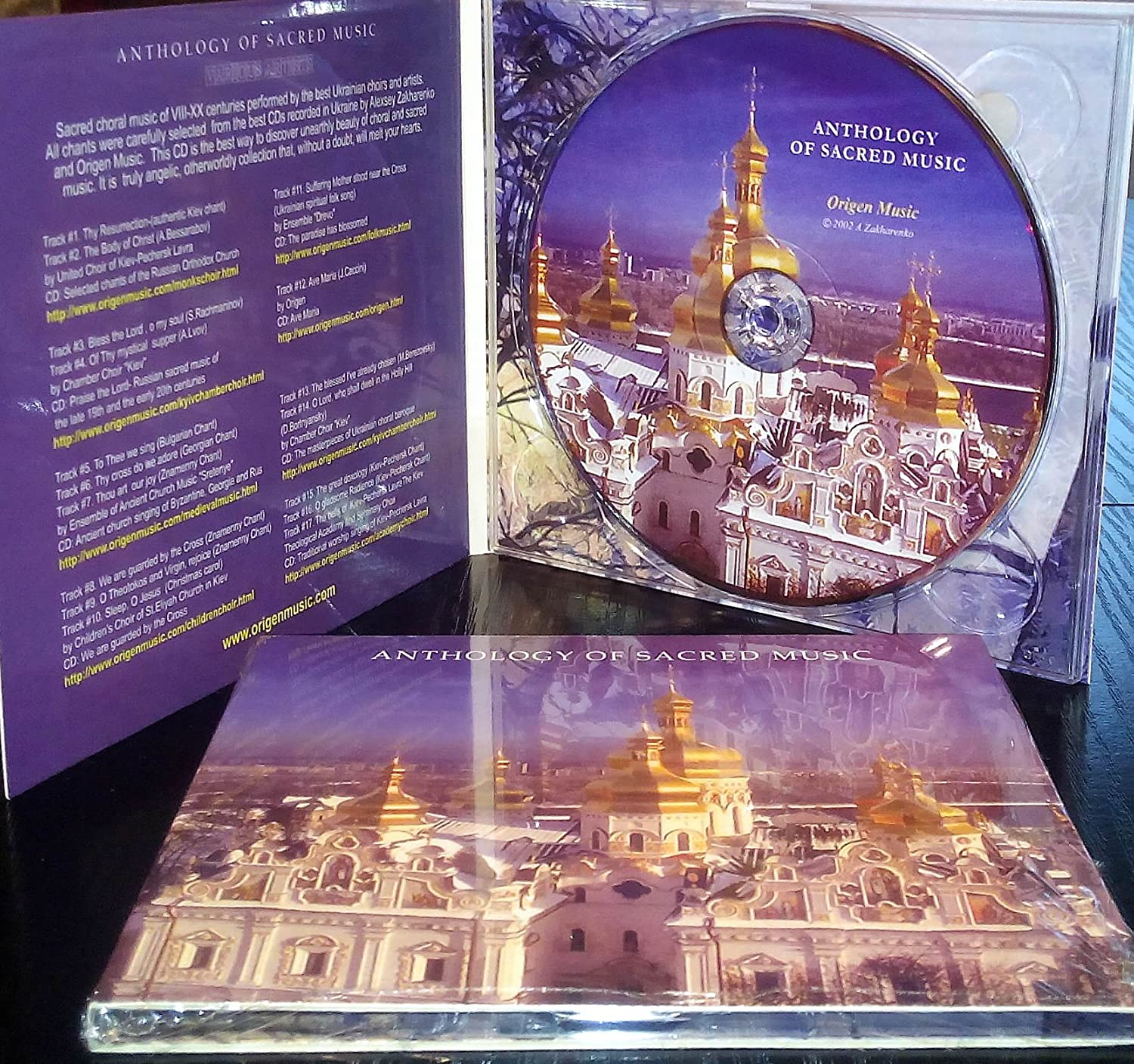 ANTHOLOGY OF SACRED CHORAL MUSIC  Praise and Worship Chant of Eastern  Europe Orthodox Church  Ancient Medieval Byzantine Monk Chanting,  Rachmaninoff,