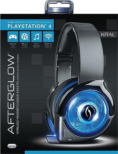 PDP - Auricular Afterglow Wireless, Color Azul (PS4): Amazon.es: Videojuegos