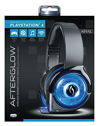 PDP - Auricular Afterglow Wireless, Color Azul (PS4)