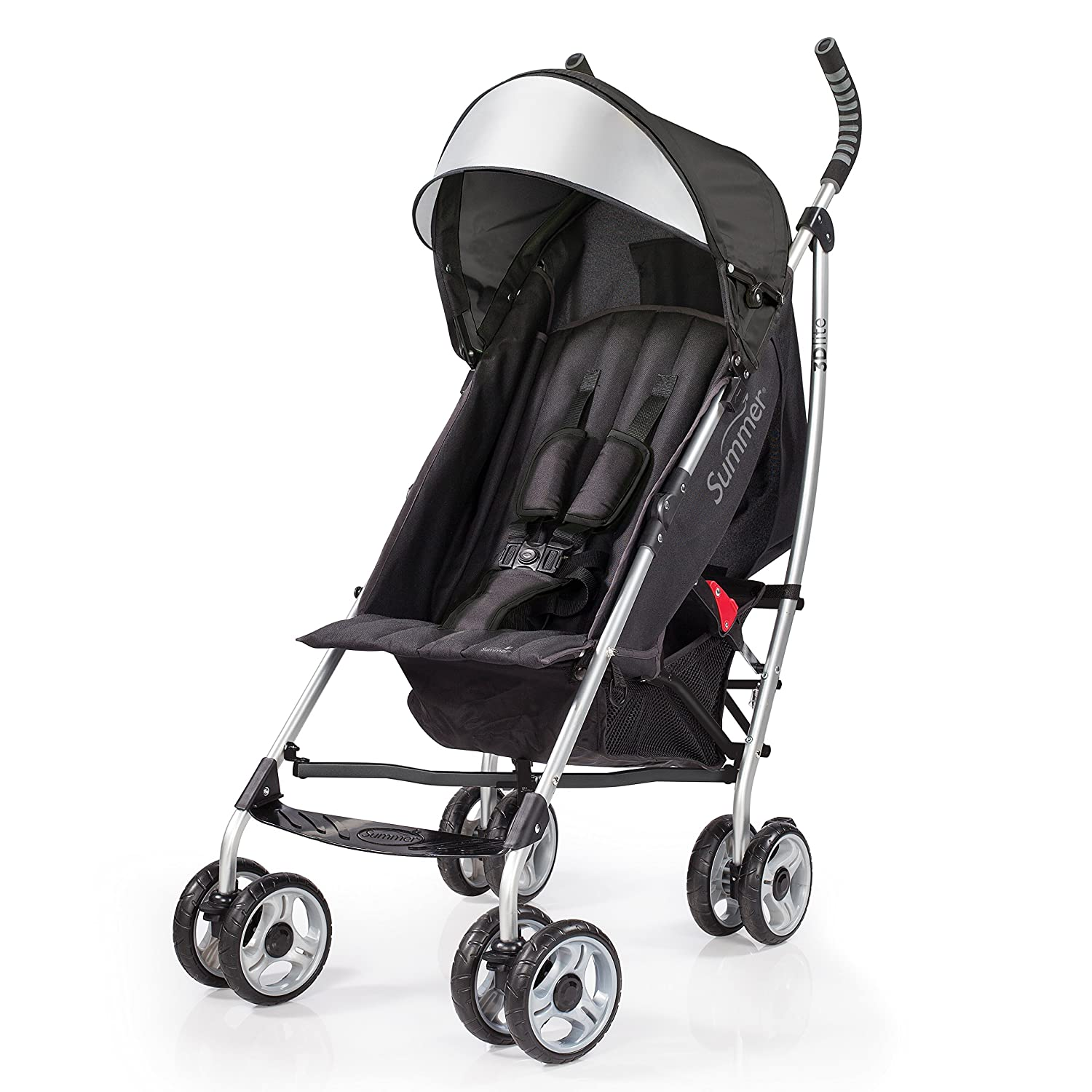 Amazon.com : Summer Infant 3Dlite Convenience Stroller, Black : Baby