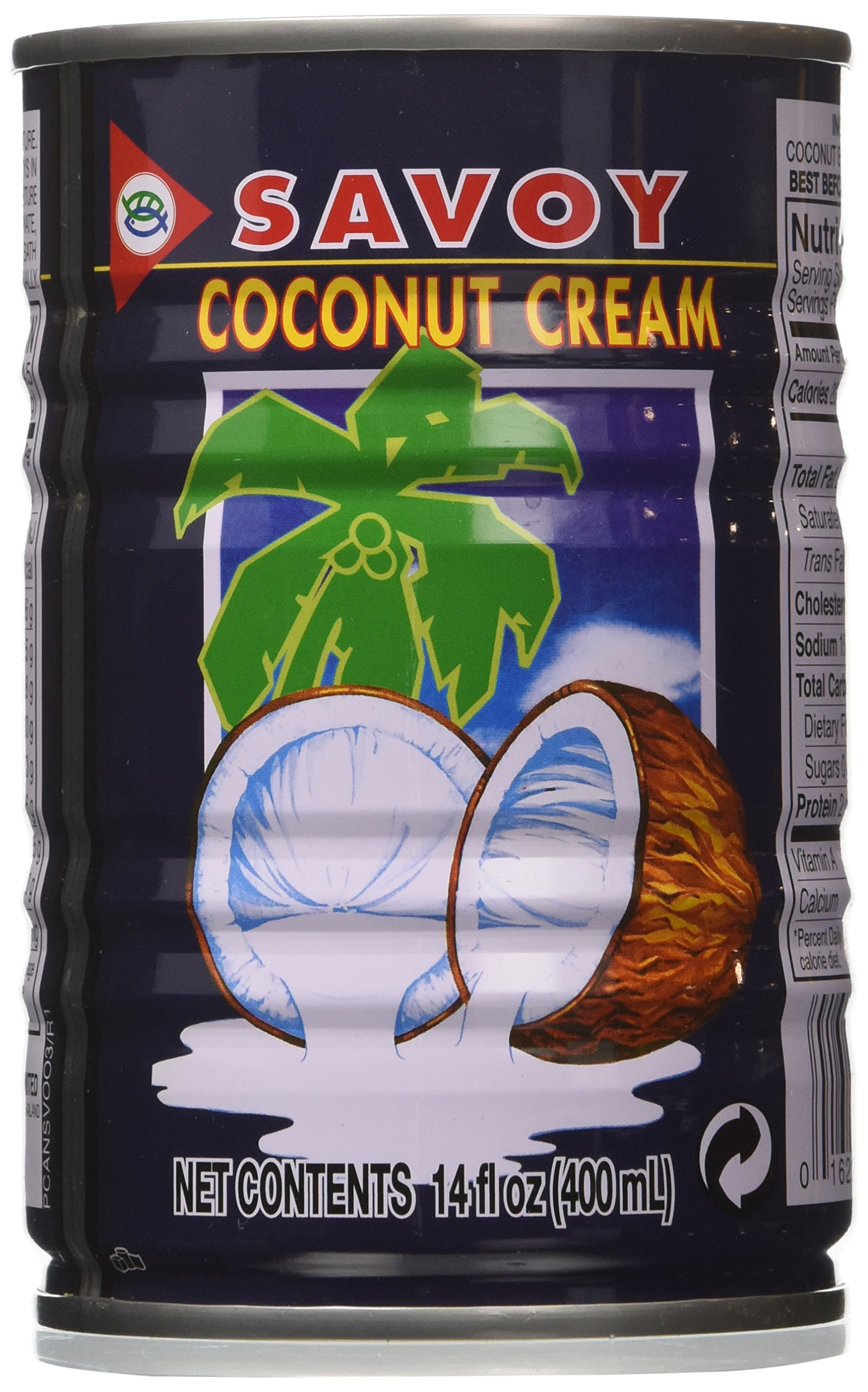 Savoy Coconut Cream 400ml Pack of 6