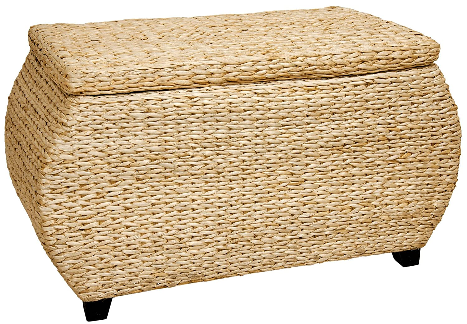 Oriental Furniture Rush Grass Storage Box - Natural FB-STOR-NAT
