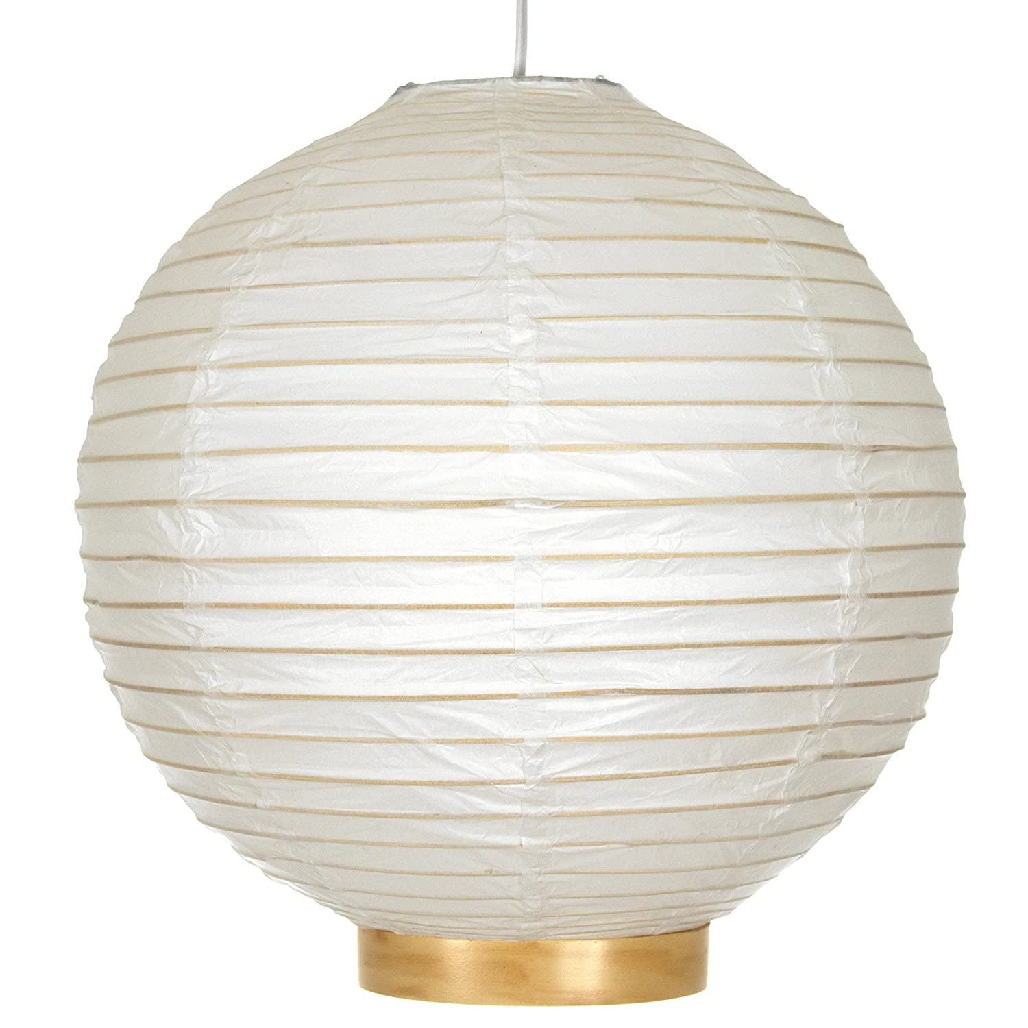 Oriental furniture simple inexpensive ceiling lighting fixture lamp 16 inch maru japanese swag electric bamboo and paper lantern amazon ca tools home