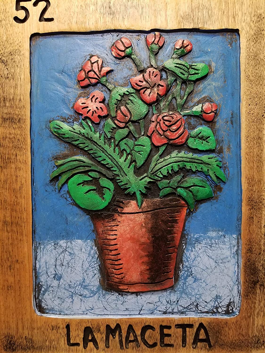 Painting Beautiful Flower Pot Drawing