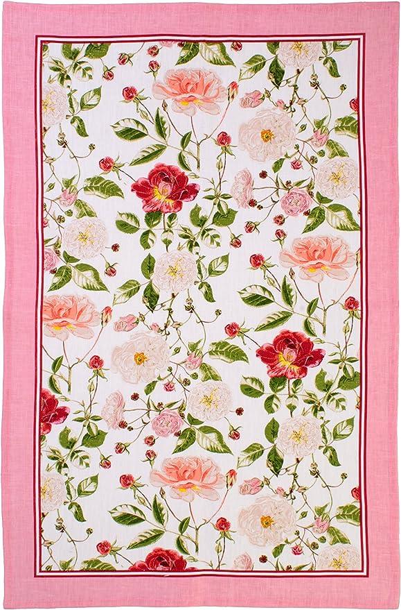 Frogs Green Pink Ulster Weavers Irish Linen Kitchen Tea Towel Froggies 4800 New